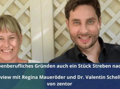 Interview mit Regina Maueröder und Dr. Valentin Schellhaas